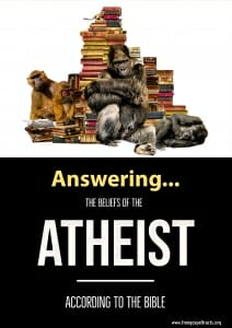 Free gospel tracts to atheists
