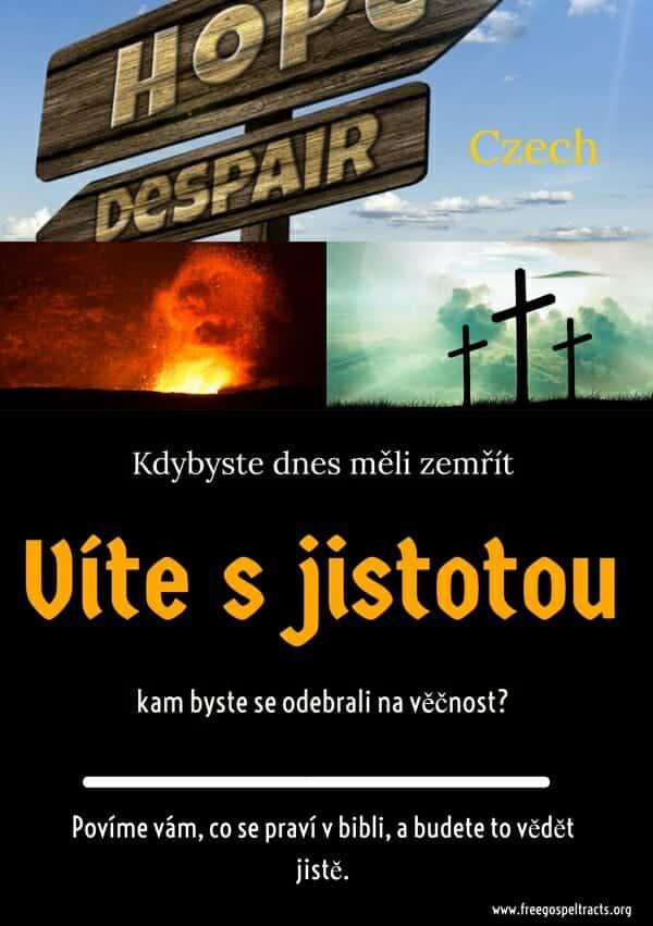 Free Gospel Tracts. (Czech)