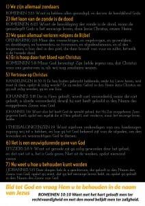 Free Gospel Tracts. (Dutch)
