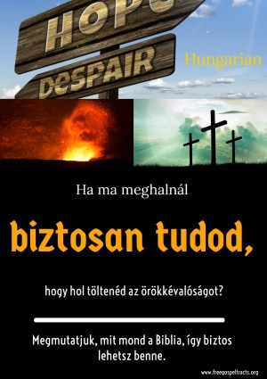 Free Gospel Tracts. (Hungarian)