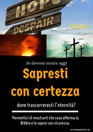 Free Gospel Tracts. (Italian)