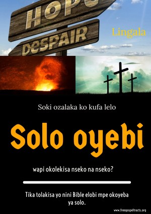 Free Gospel Tracts. (Lingala)