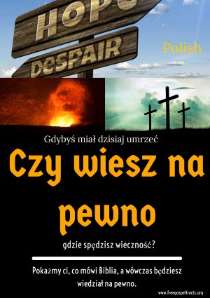 Free Gospel Tracts. (Polish)