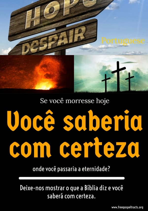 Free Gospel Tracts. (Portuguese)