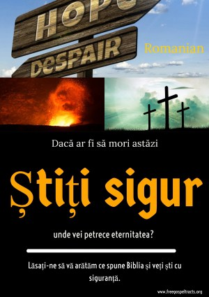 Free Gospel Tracts. (Romanian)