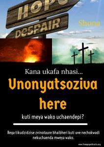 Free Gospel Tracts. (Shona)
