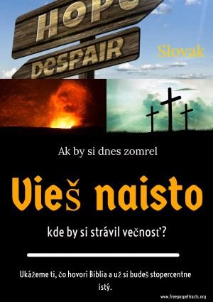 Free Gospel Tracts. (Slovak)