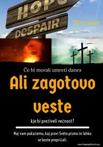 Free Gospel Tracts. (Slovenian)