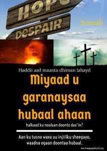 Free Gospel Tracts. (Somali)