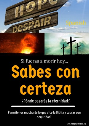 Free Gospel Tracts. (Spanish)