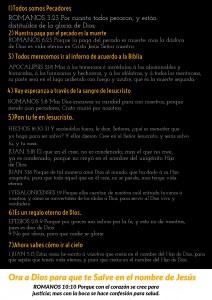 Free Gospel Tracts. (Spanish)