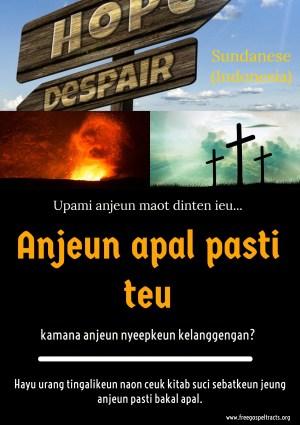 Free Gospel Tracts. (Sundanese)