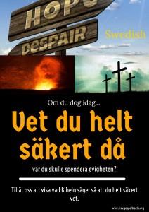 Free Gospel Tracts. (Swedish)