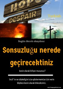 Free Gospel Tracts. (Turkish)