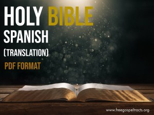 Download the bible in PDF Format. Download spanish BIBLE in PDF